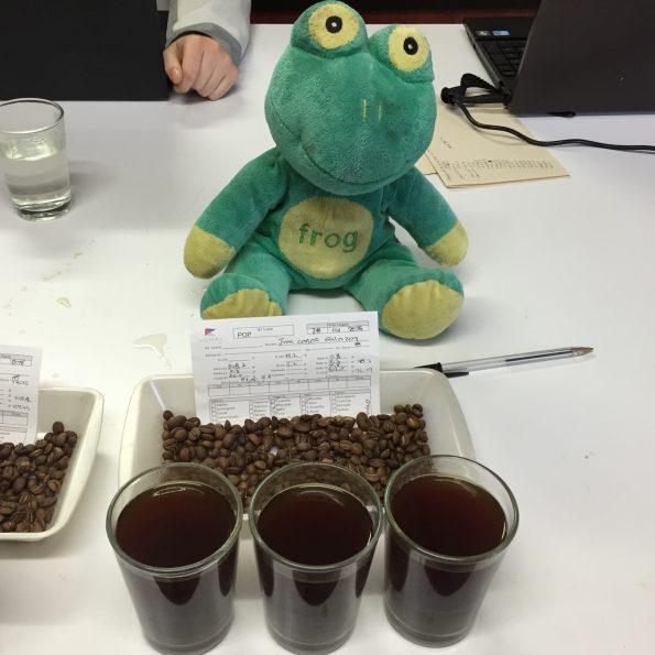 quality control and assessment via cupping