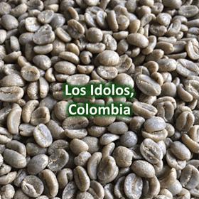 Green Coffee - Los Idolos, Colombia