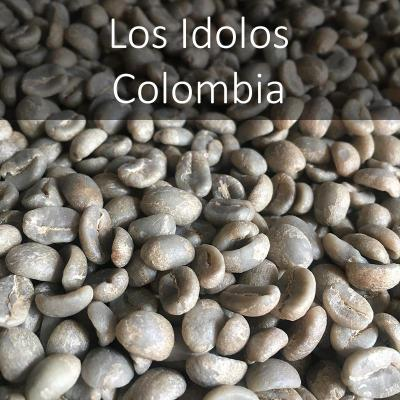 Green Colombian Los Idolos