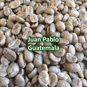 Green Coffee - Juan Pablo Guerra, Guatemala