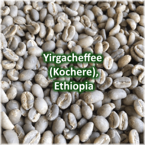 Green coffee Yirgacheffee (Kochere) Ethiopia