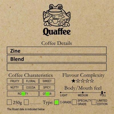 Zine Coffee Blend