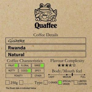 Rwanda Gisheke Natural