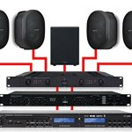 Apart Installation Audio 4.1Noir 460W