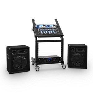 DJ PA Set Rack Star Uranus Blues 250 Personnes