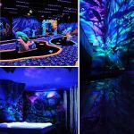 ENKEEO 9 LEDs Projecteur UV Barre Jeux de Lumière Lampe LED Pour DJ Disco Fête Bar Soirée