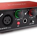 Focusrite Scarlett Solo (2nd Gen) – Parent. Interface seulement