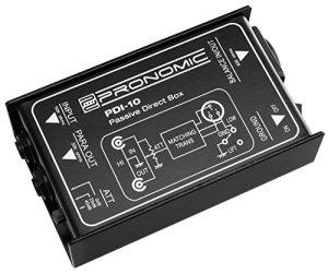 Pronomic PDI-10 boîte DI passive
