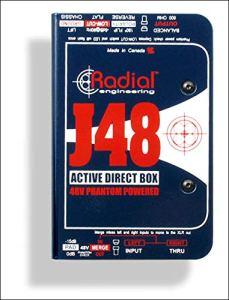 Radial j48 boîte de direct active