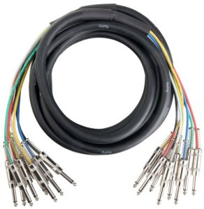 Pronomic Stage MJJ8-8 Câble Jack Multicore (8), 6m