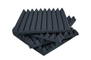 Panneaux insonorisants Pyramidal Correction Acoustique 50x50x6 D25 Paquet De 20