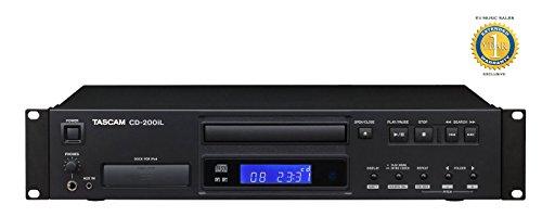 Tascam CD-200iL Professional lecteur CD avec 30 broches, dock iPod foudre