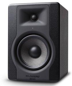 M-Audio – BX5 D3 – Moniteur de Studio Professionnel 100 W Actives avec 2 Voies, Woofer 5 Pouces et Acoustic Space Control Intégré – Noir