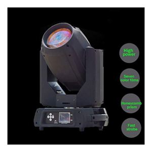 YEANMO 350W LED RGB scène Spotlight, Moving Head Light DMX512 Voix 16/20 Canal arc-en-13 Motif 13 Couleur + White Light Dimmable Spotlight scène éclairage (Color : Package B(2PCS))