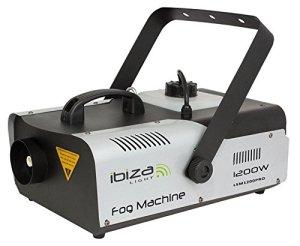 Ibiza LSM1200PRO Machine à effets Noir