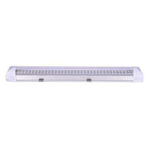 Outtybrave Lampe LED néon 72 LED pour intérieur de Voiture 12 V 4,5 W avec Interrupteur Marche/arrêt pour Camion, Camping-Car, Bateau