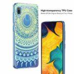 Suhctup Moda Coque Compatible pour Samsung Galaxy S11,Transparent Silicone TPU Souple Étui avec [Motif Fleur] Crystal Ultra Fine Shock-Absorption Antichoc Protection Housse Cover Case(Lacet 10)