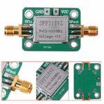 HuiLai Zhang SPF5189 avec coque de blindage large utilisation récepteur de signal faible bruit large bande fréquence radio 50-4000MHz module d'amplificateur RF LNA
