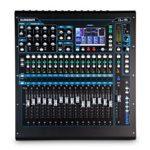 Allen & Heath American Music and Sound qu-16°C–Mélangeur Digital Compact pour montage sur rack (édition chromée)