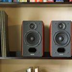 Edifier P17 – Haut-parleurs Bibliothèque Passifs pour Récepteurs Amplificateurs pour Placement Avant, Central, Latéral et Arrière – Paire