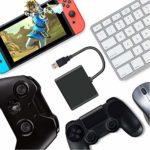 FAMKIT Adaptateur contrôleur clavier et souris pour XBOXONE/PS4 sans délai