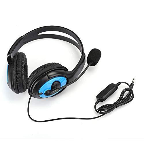 Casque d'équipement Casque, écouteur de Jeu ABS, Micro Casque de Jeu léger 1 pièces X-One pour PS4
