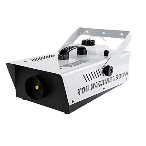 Machine À Fumée Machine À Brouillard avec Télécommande sans Fil Et 6 Lumières LED Colorées pour Noël Halloween Effet De Scène De Mariage DJ Disco Party,1500w