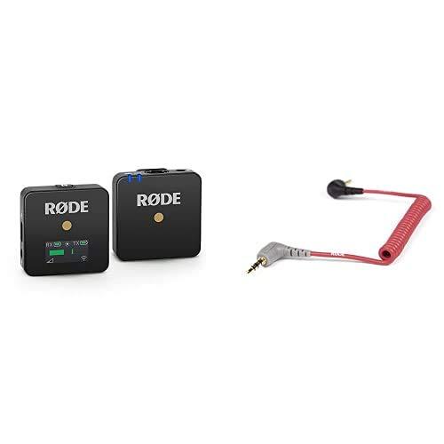 RØDE Wireless Go Système de Microphone Compact sans Fil & SC7 Câble Patch pour VideoMic GO
