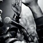 Shure Dynamic Microphone Shure Sm58-S Black and Silver, Vocal Cardiodie & Stagg 6 m Câble Microphone XLR – Phono de Haute Qualité – Noir