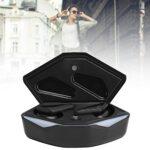 Annadue Écouteurs sans Fil, écouteurs Stéréo Bluetooth TWS, écouteurs Intra-Auriculaires à Réduction de Bruit, avec étui de Chargement, Fonction de Commande à Un Bouton/Technologie étanche IPX5