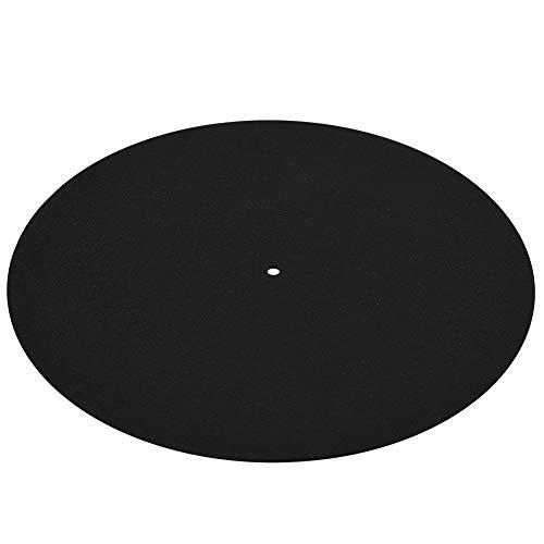 Disque Vinyle – 1 Pièces Ultra-mince Antistatique Vinyle Platine Disque Vinyle Antistatique Plat Doux Tapis Tapis Antidérapant
