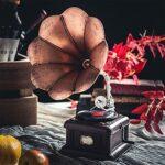 LJFZMD Machine D'enregistrement De Lecteur De Disque Rétro, Décorations Nostalgiques pour L'artisanat De Bureau Et Ornements pour Les Décorations De Bar De Restaurant De Musique