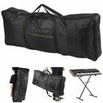 Sac de Piano électronique en tissu Oxford exquis sac pour orgue électronique étanche pour joueurs de piano pour clavier électrique à 61 touches