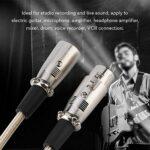 HAOX Câble XLR à 3 Broches, câble MIC XLR Durable, amplificateur pour Microphone amplificateur de Casque de Guitare électrique(5 Meters)