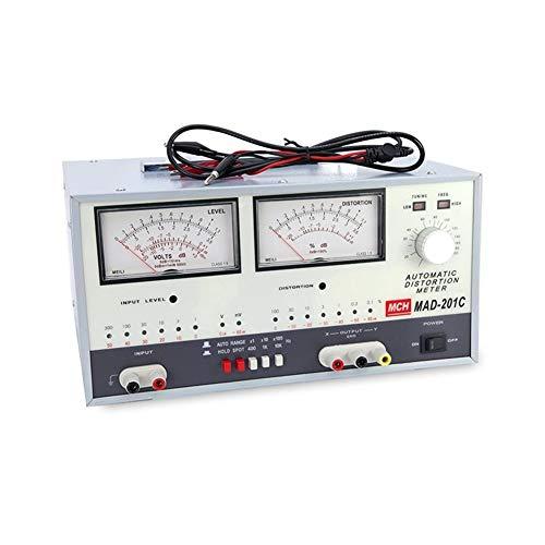 cjcaijun Multimètre Mesureur de Distorsion Automatique 20Hz-20kHz MAD-201C Alimentation DC (Size : 110V)