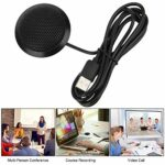 Micro micro, microphone USB Haute sensibilité Effets sonores clairs Réduction intelligente du bruit pour les réunions en ligne
