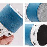 SCYMYBH Haut-Parleur Bluetooth Super-Portable avec Jeu de Lecture de 2 Heures, Gamme Bluetooth de 33 Pieds, Basse améliorée, Microphone à Annulation de Bruit (Color : Pink, Size : A)