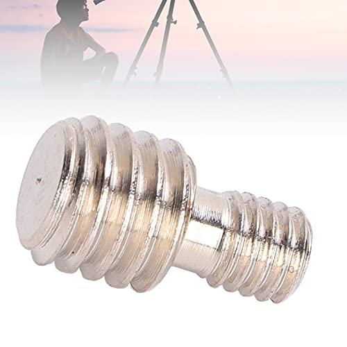 Vis adaptateur mâle 3/8 à M6, même par force adaptateur mâle fileté M6 à 3/8 pour monopodes pour trépieds pour accessoires de photographie