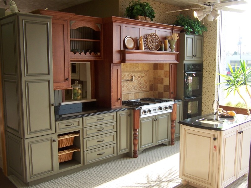 kitchen displays island ideas