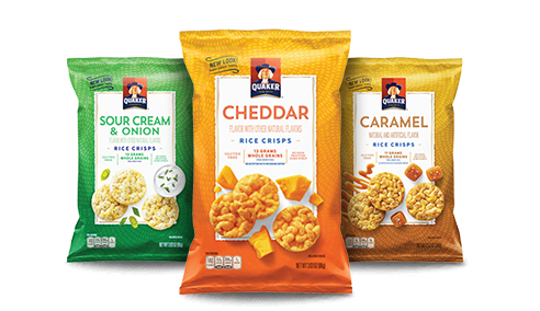 Product Rice Snacks Quakeroatscom