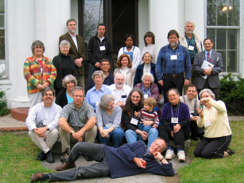 Quakers Uniting in Publications annual meeting in Richmond Indiana 2004.