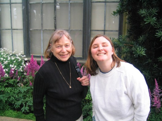 Liz and my wife Julie at Longwood Gardens, Spring 2006.