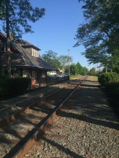 Mile 22/32: the oldHaddon Heights train station.