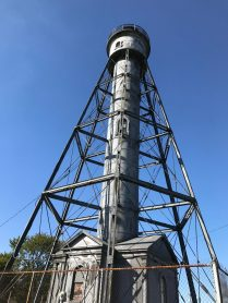 The Tinicum light is closed because of some structural bowing.