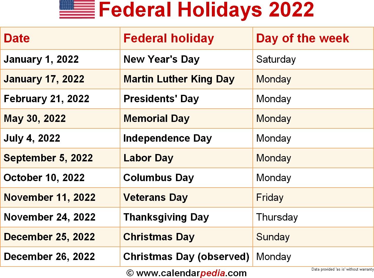 Canada Holiday Calendar 2022 Public Major Holidays | Qualads