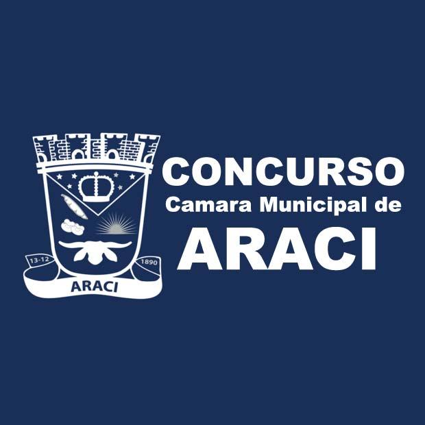 Termina hoje, as inscrições no concurso da Câmara Municipal deAraci