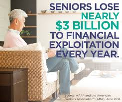 Financial Exploitation of the elderly in Florida is a crime, and is subject to legal action for damages - consult with an experienced elder law attorney