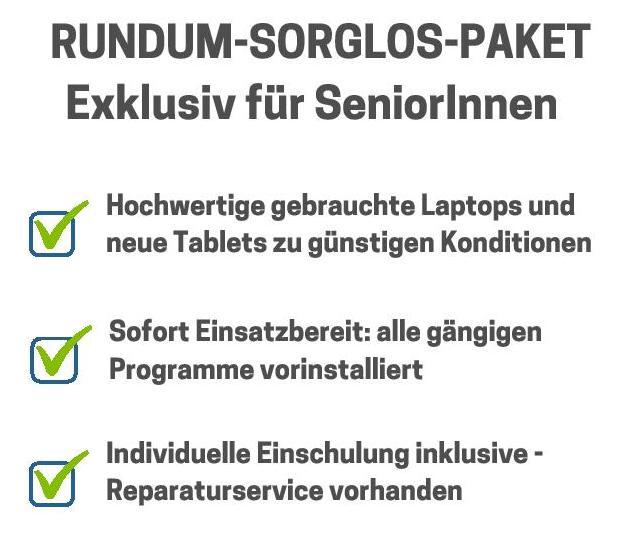 Rundum-Sorglos-Paket für SeniorInnen
