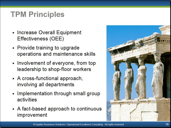Total Productive Maintenance PowerPoint