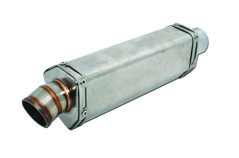 universal motorcycle exhaust muffler stainless steel 105x95 l280 in45